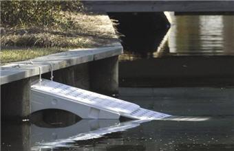 Super Skamper-Ramp in Pond